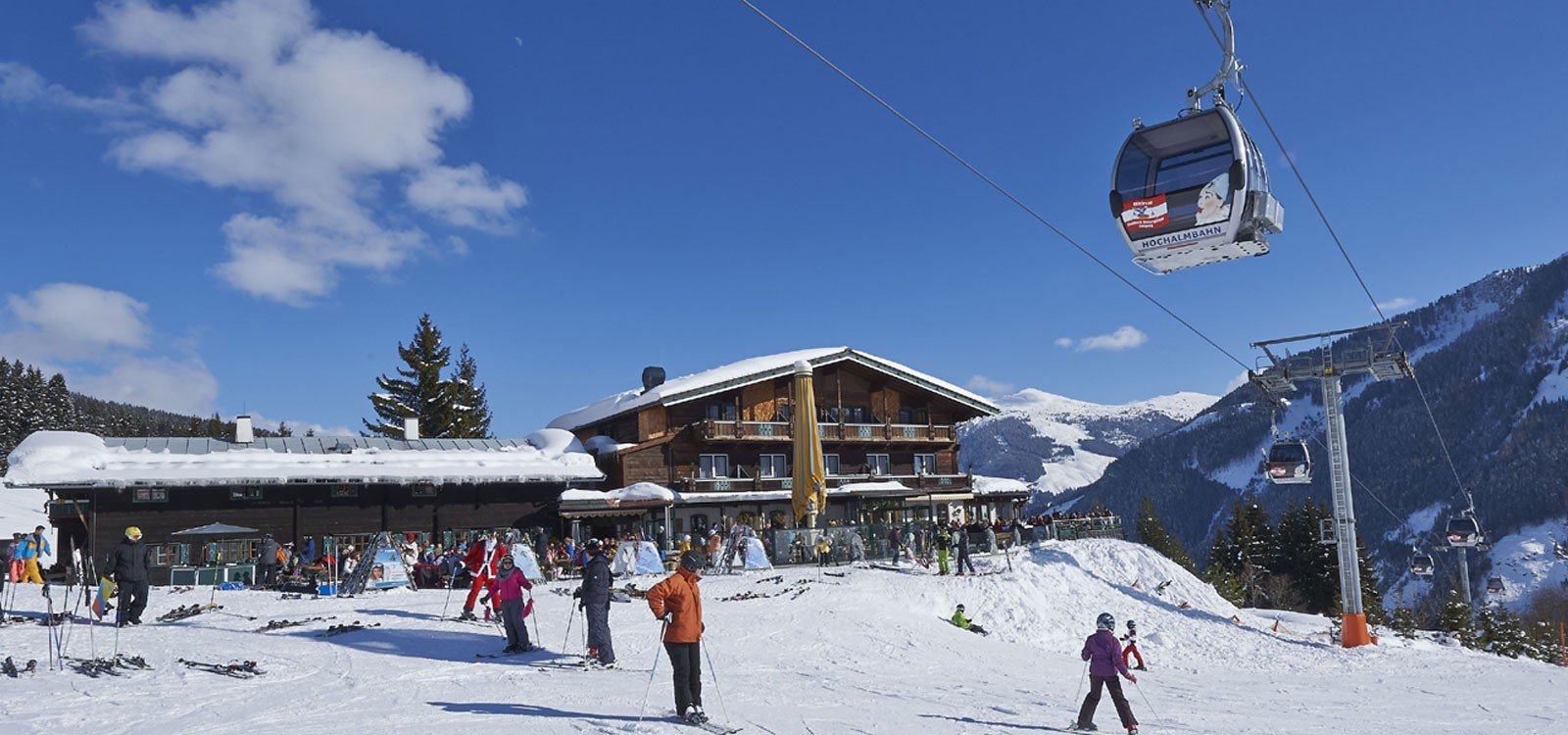 Alpenoase Sonnhof direkt an der Piste