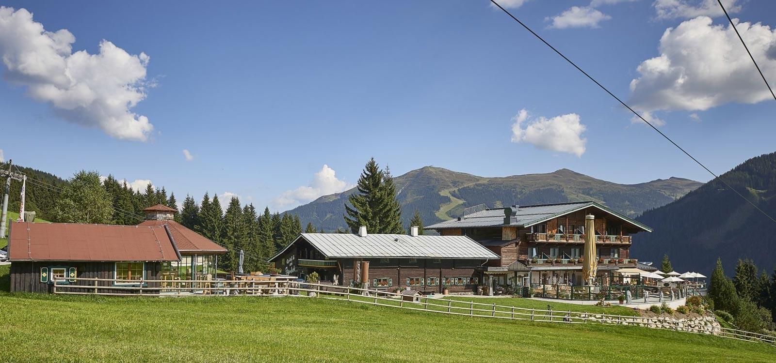 Alpenoase Sonnhof Saalbach im Sommer