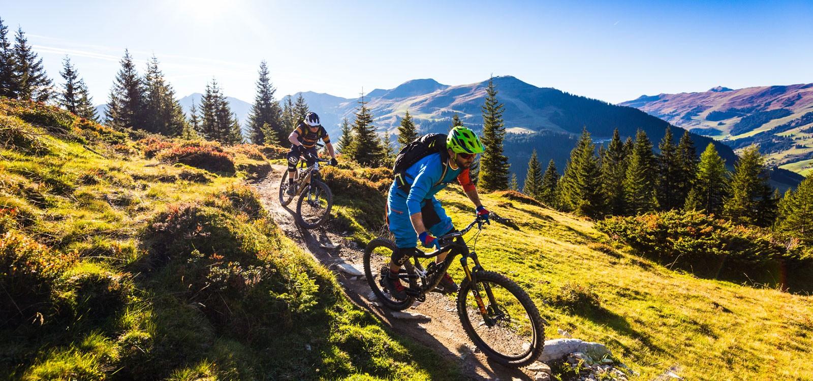 Biken in Saalbach