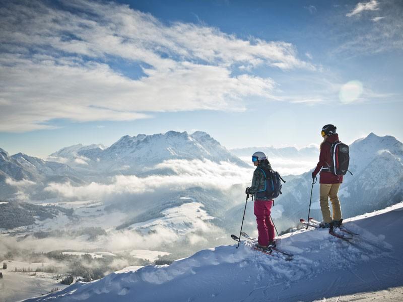 Winterlandschaft Saalbach
